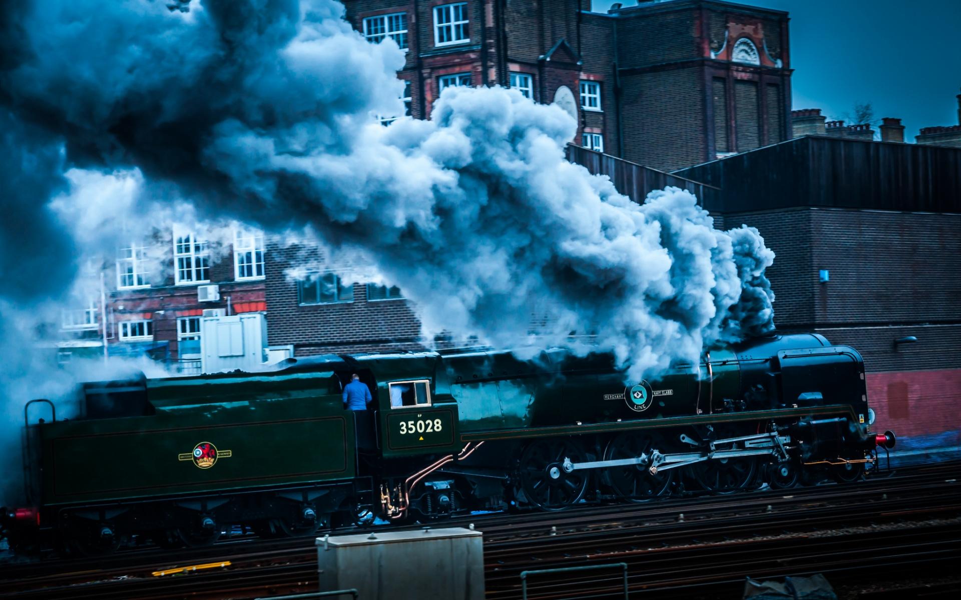 Steam Train Hd Duvar Kağıdı Arka Plan 1920x1200 Id491521