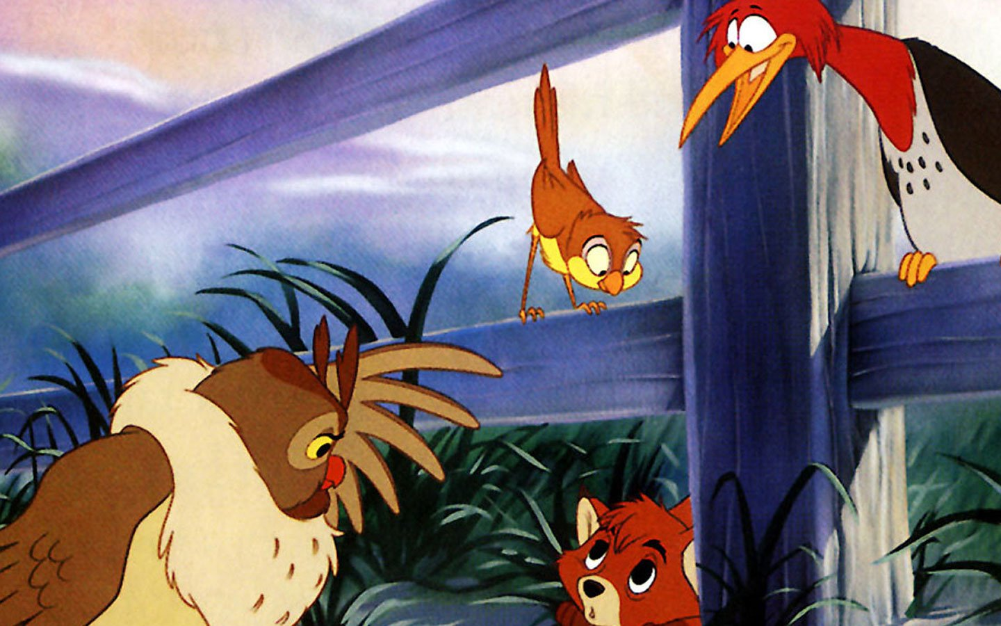 The Fox And The Hound Wallpaper And Background Image 1440x900