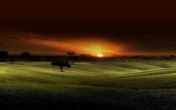 Earth - Sunset Wallpapers and Backgrounds ID : 491179