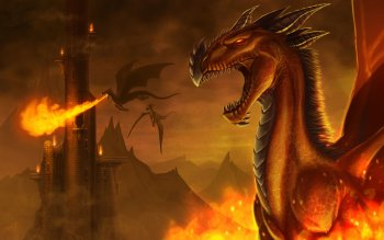 Fantasy - Dragon Wallpapers and Backgrounds ID : 491436