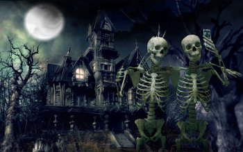 Dark - Skeleton Wallpapers and Backgrounds ID : 491672