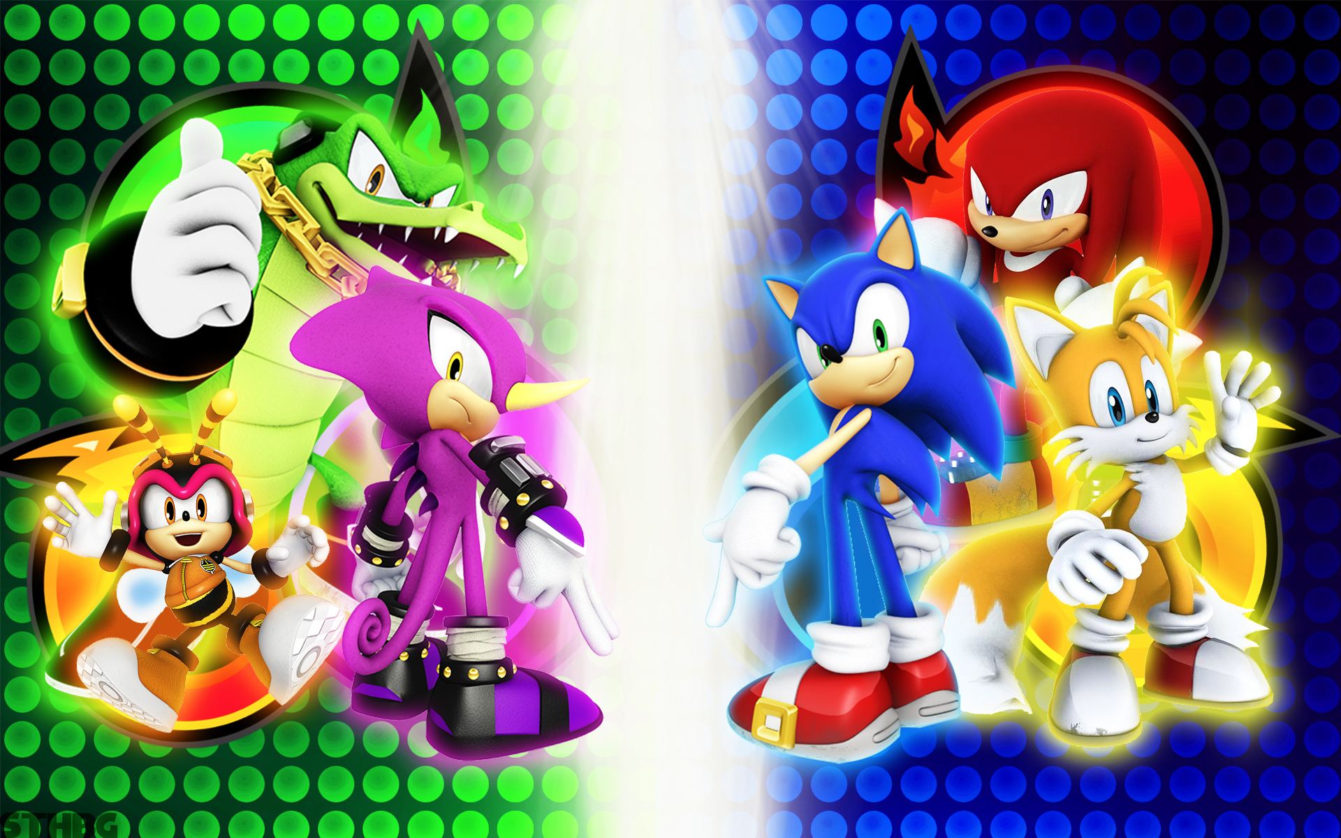 Sonic Heroes Full HD Wallpaper and Background | 1920x1200 ...