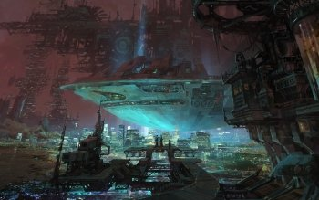 Sci Fi - City Wallpapers and Backgrounds ID : 492503
