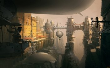 Fantasy - City Wallpapers and Backgrounds ID : 492537