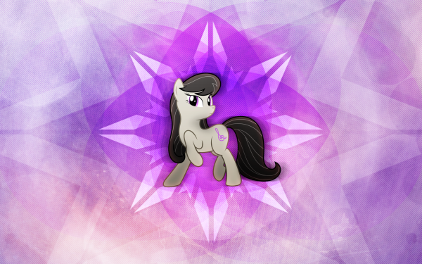 TV Show My Little Pony: Friendship is Magic My Little Pony Octavia Melody Vector HD Wallpaper | Background Image