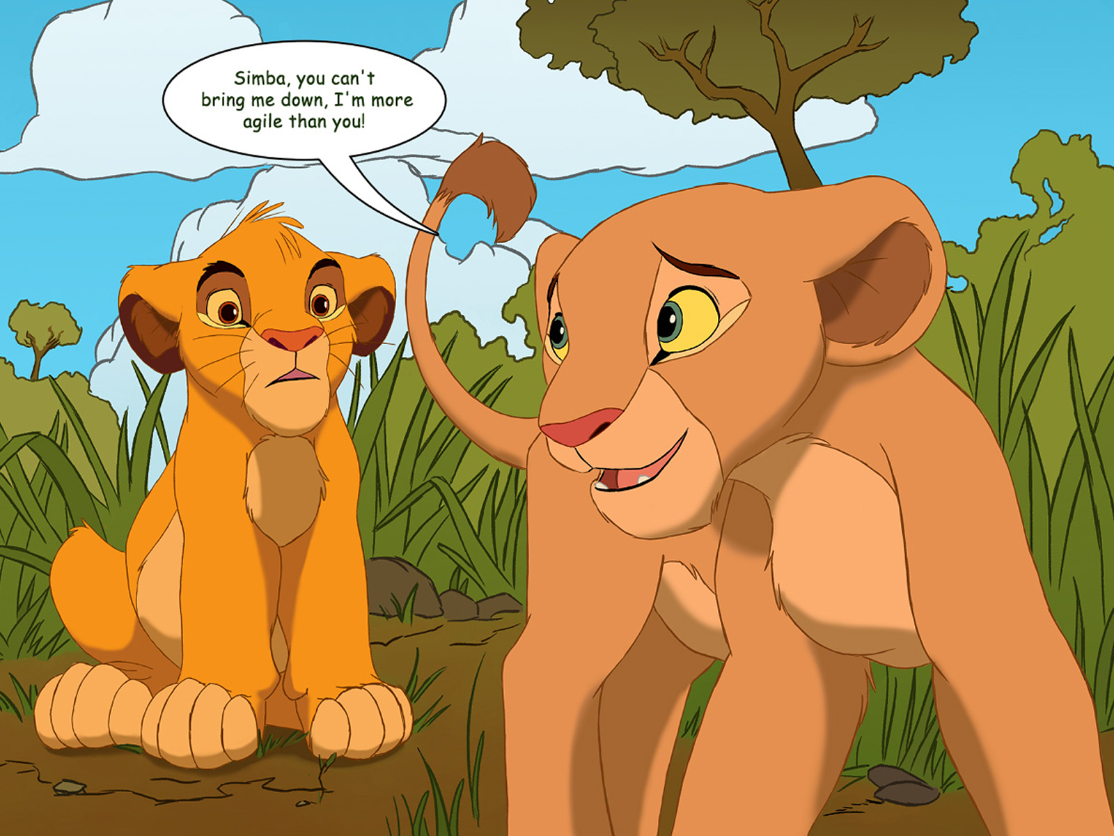 Simba and nala porn