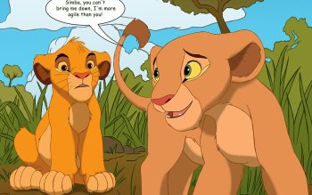 幼いライオンたち
