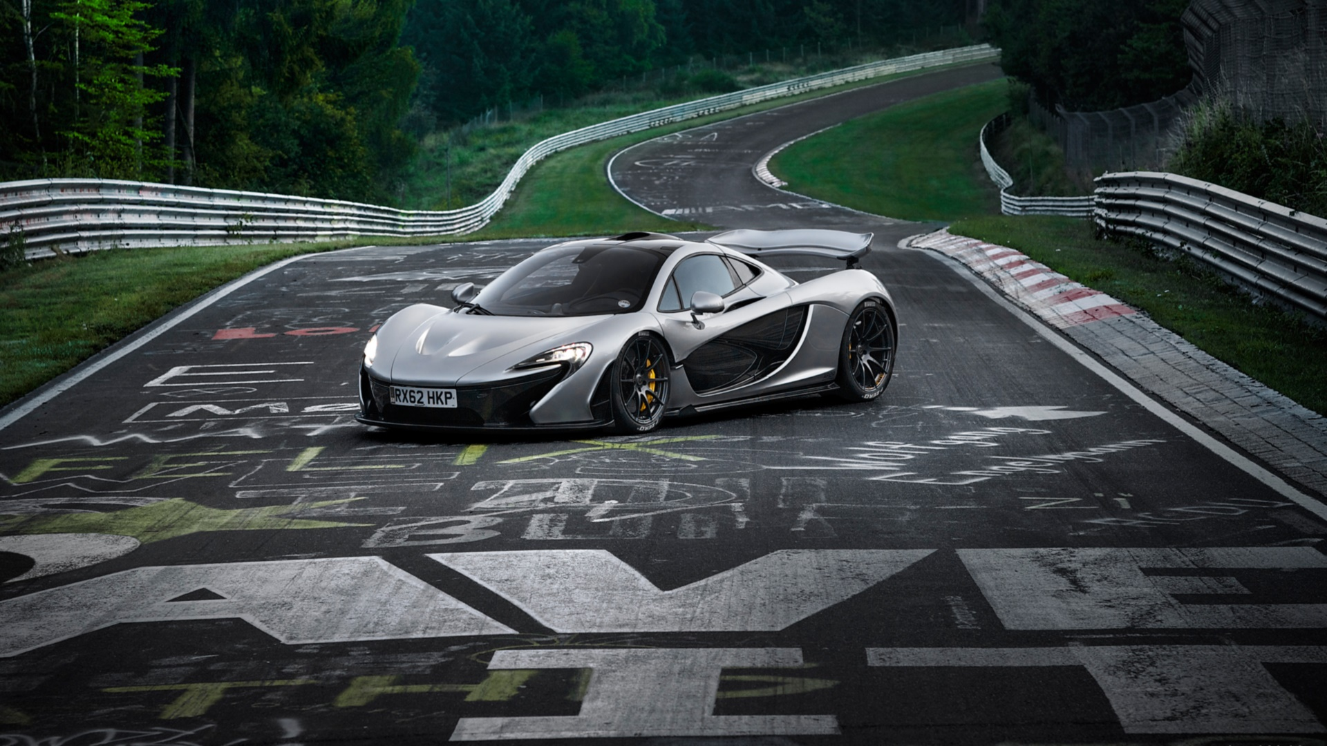 Mclaren P1 Full Hd Wallpaper And Background 1920x1080