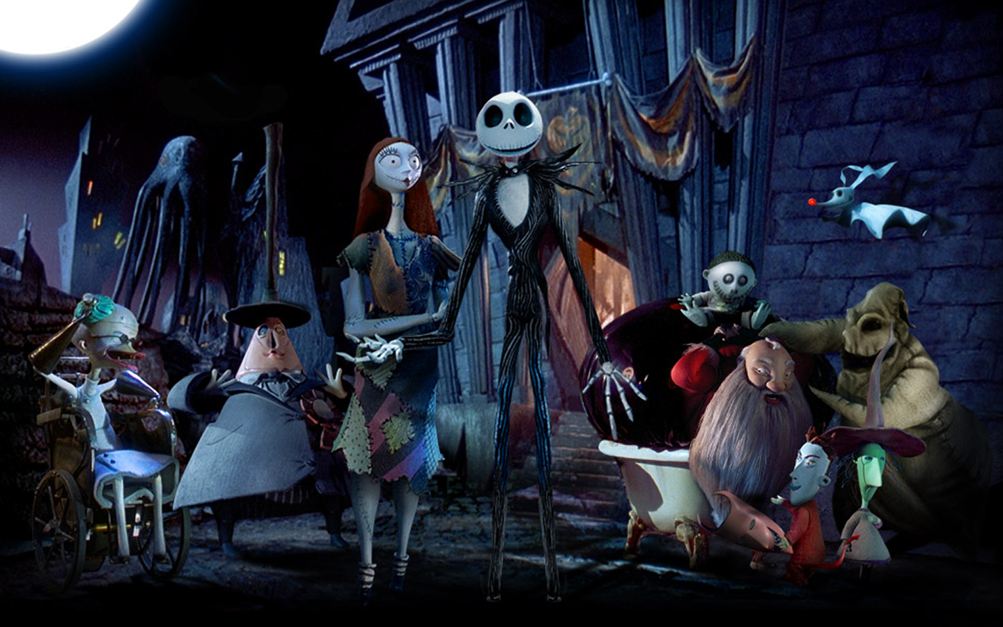 ... Coders Wallpaper Abyss Movie The Nightmare Before Christmas 494784