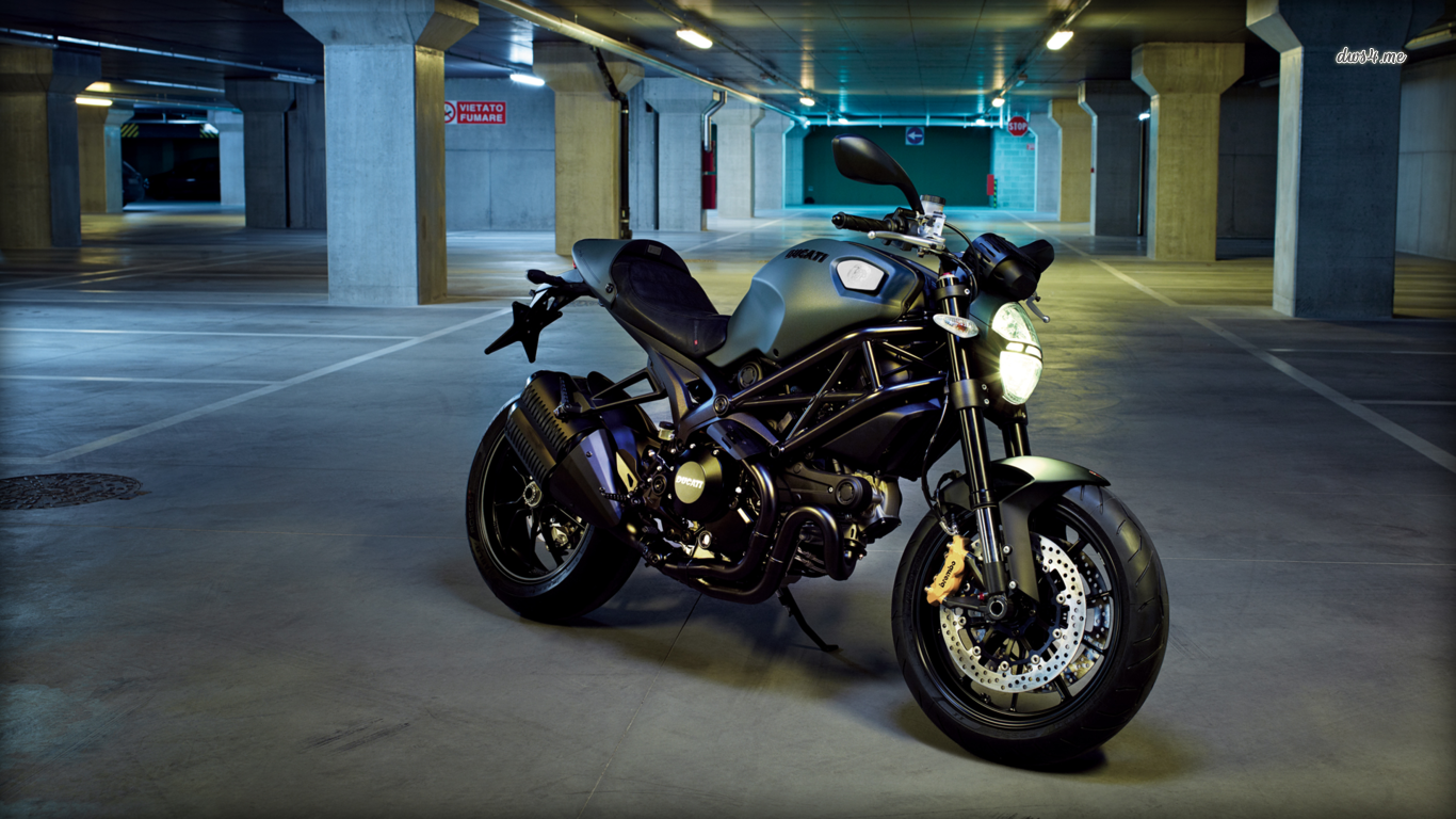 2 Ducati Monster 1200 HD Wallpapers