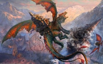 Fantasy - Dragon Wallpapers and Backgrounds ID : 495615