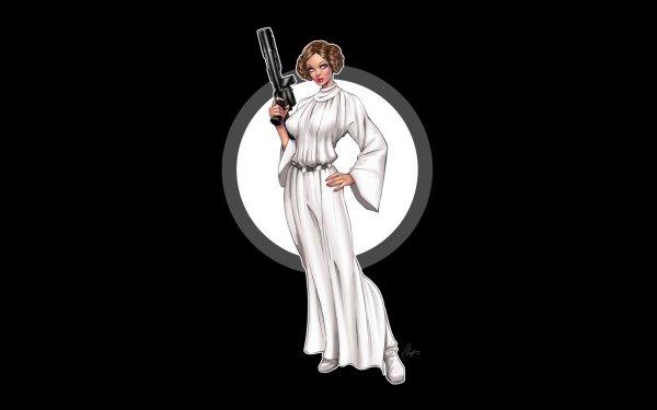 Sci Fi Star Wars Princess Leia HD Wallpaper | Background Image