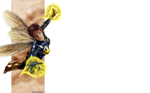 Bande-dessinées Wasp Janet van Dyne Fond d'écran HD | Image