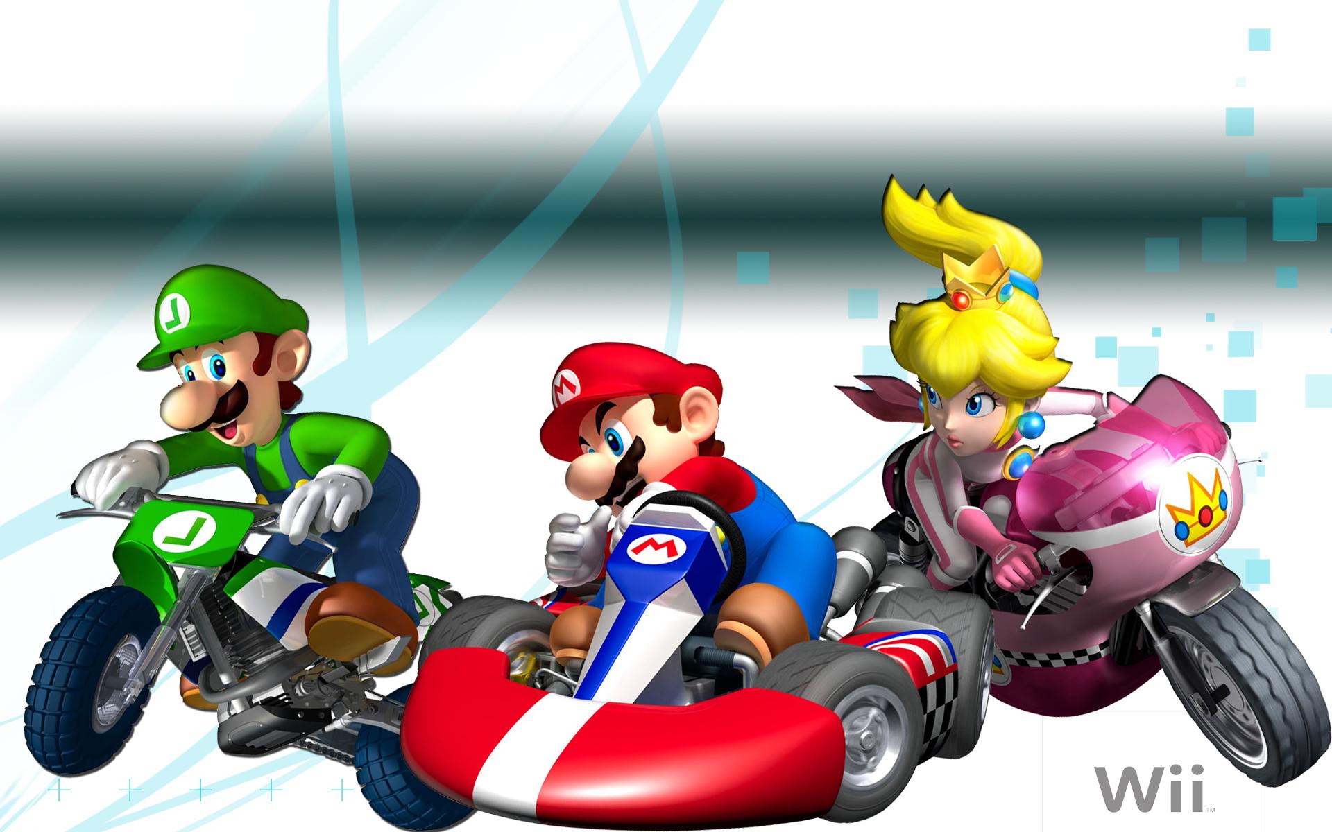 Mario Kart Wii Hd Wallpaper Background Image 1920x1200