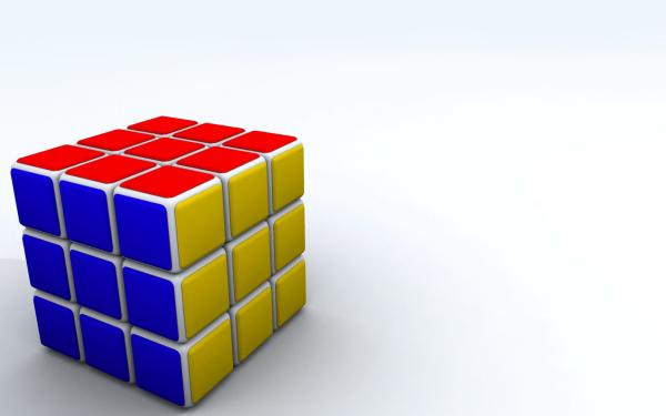 Spel Rubik's Cube HD Wallpaper | Background Image