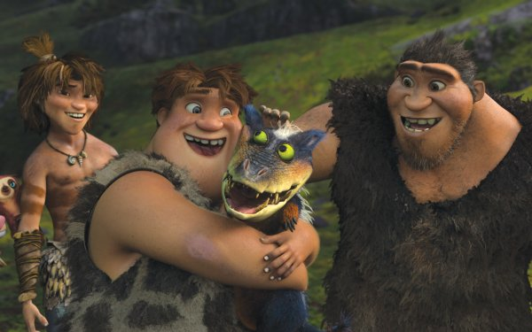 Movie The Croods Guy Thunk Grug HD Wallpaper   Background Image