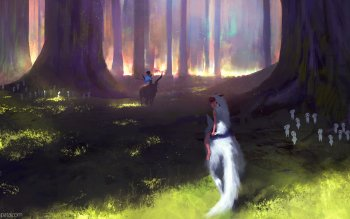 Фильм - Princess Mononoke Wallpapers and Backgrounds ID : 499249