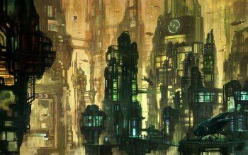 Sci Fi - City Wallpapers and Backgrounds ID : 499438