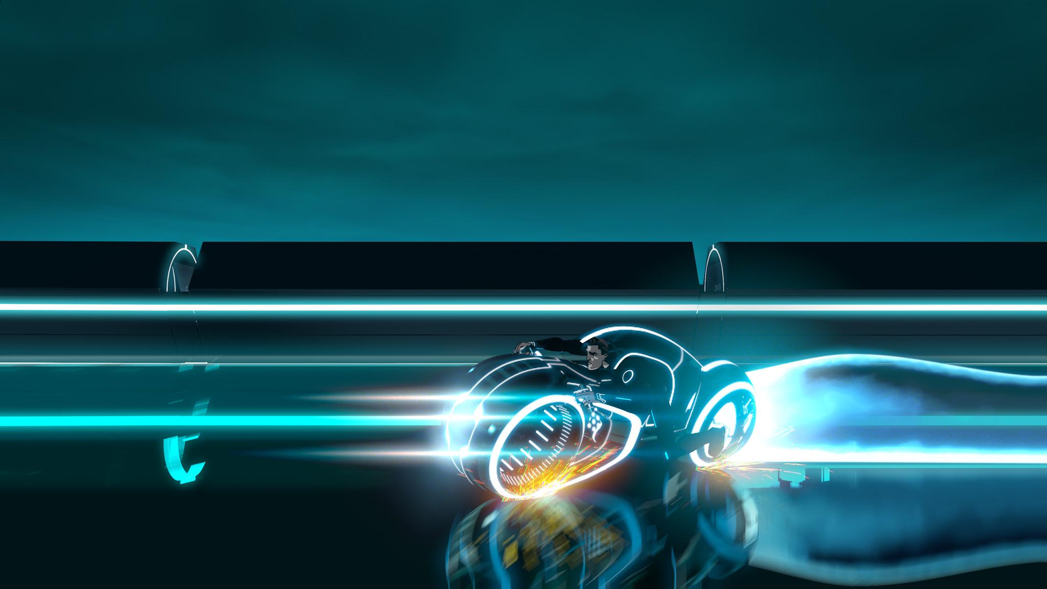 Tron Uprising Hd Wallpaper Background Image 2048x1152 Id