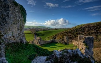 Man Made - Corfe Castle Wallpapers and Backgrounds ID : 501254