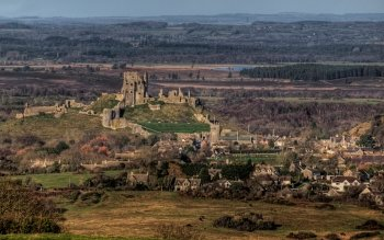Man Made - Corfe Castle Wallpapers and Backgrounds ID : 501256