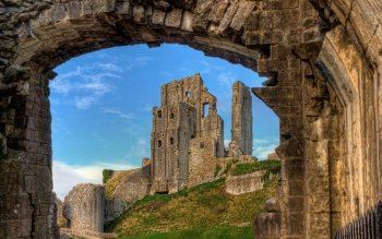 Man Made - Corfe Castle Wallpapers and Backgrounds ID : 501257