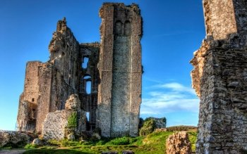 Man Made - Corfe Castle Wallpapers and Backgrounds ID : 501258