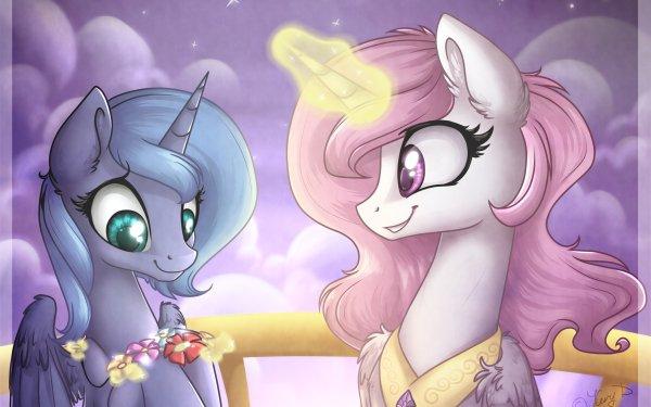 TV Show My Little Pony: Friendship is Magic My Little Pony Princess Celestia Princess Luna HD Wallpaper   Background Image