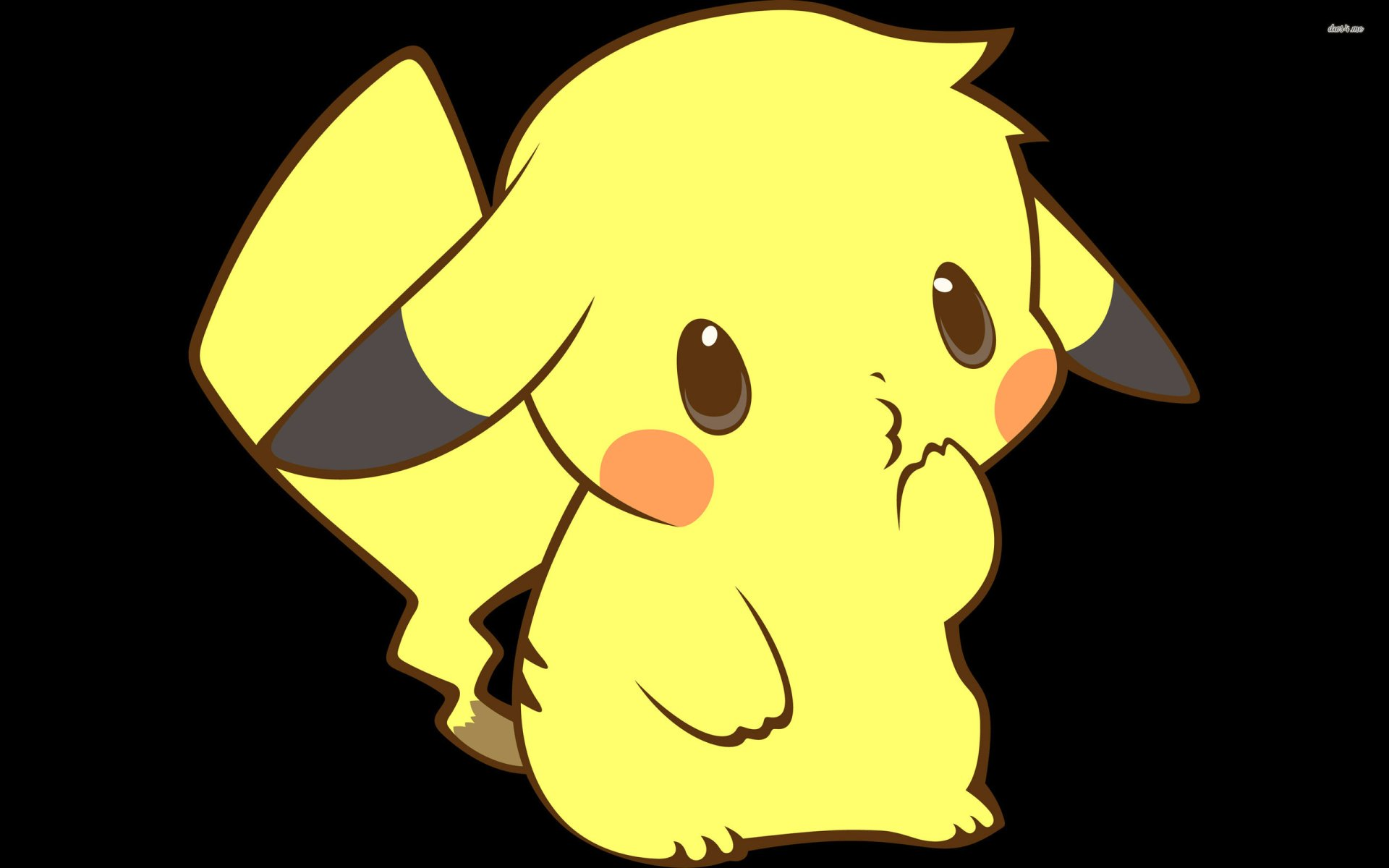 Anime - Pokémon  Pikachu Cute Wallpaper