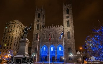 Religious - Notre Dame Basilica In Montreal Wallpapers and Backgrounds ID : 502164