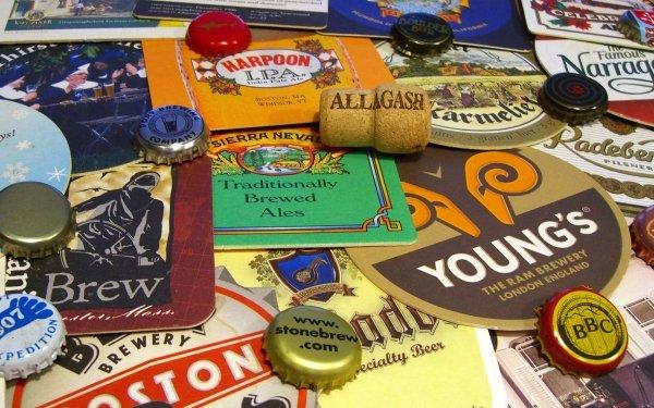 Misc Beer Bottle Caps HD Wallpaper   Background Image