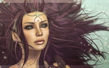 Fantasy - Women Wallpapers and Backgrounds ID : 504391