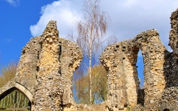Man Made - Wolvesey Castle Wallpapers and Backgrounds ID : 504921