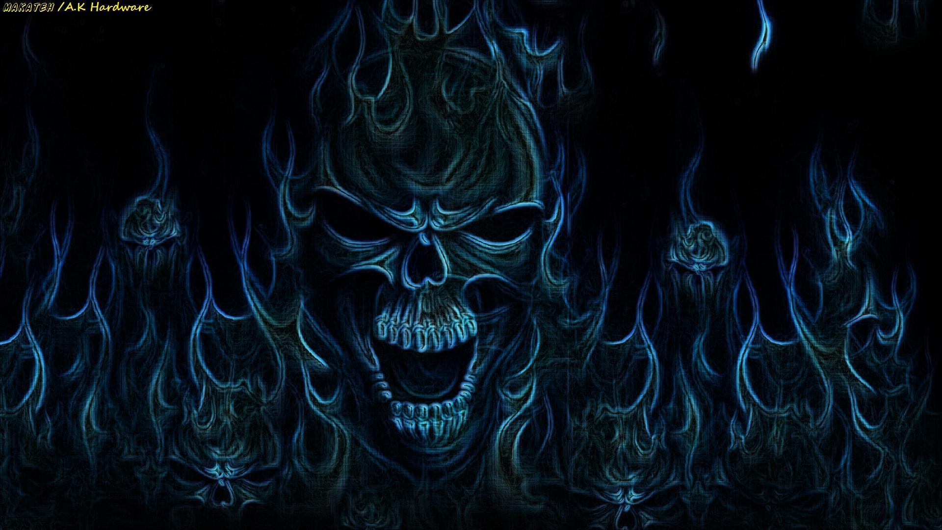 wallpapers skull desktop - photo #24
