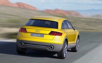 Vehicles - 2014 Audi Tt Offroad Concept Wallpapers and Backgrounds ID : 505672