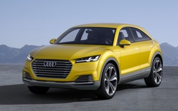 Vehicles - 2014 Audi Tt Offroad Concept Wallpapers and Backgrounds ID : 505675