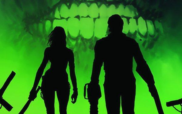 Comics Army Of Darkness Vs. Hack/Slash Ash Williams HD Wallpaper | Background Image