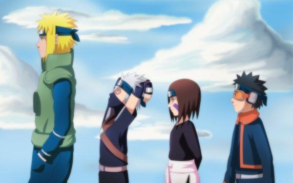 Anime Naruto Hokage Kakashi Hatake Obito Uchiha HD Wallpaper | Background Image
