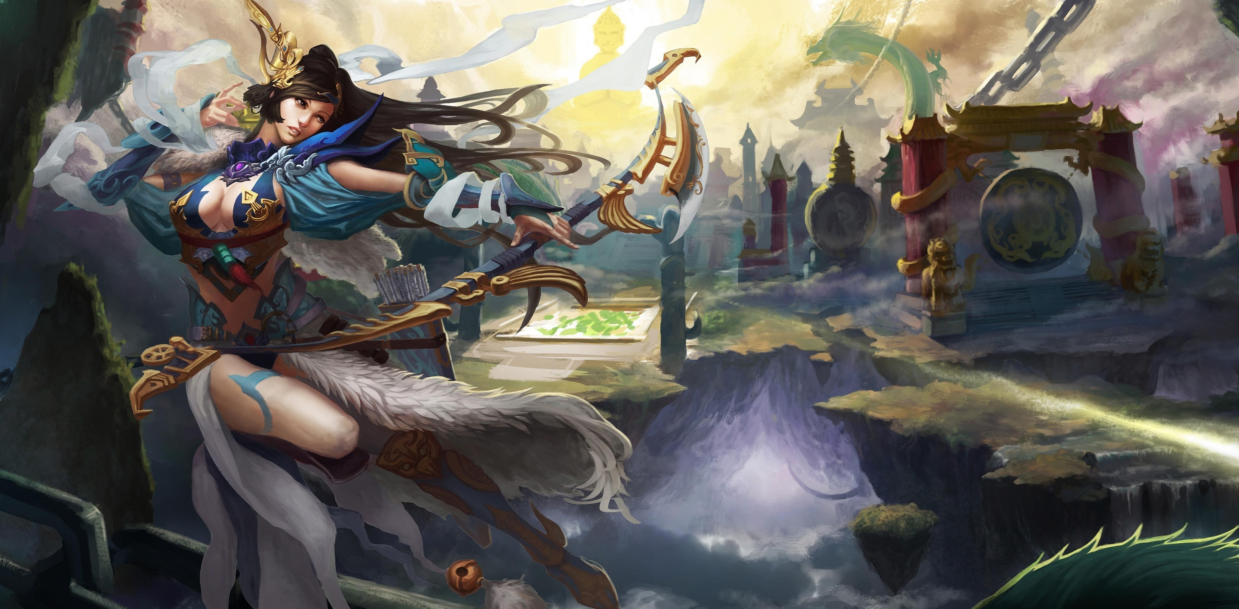 Fantasy - Wome  n Warrior  Wallpaper