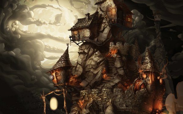 Oscuro Tower Fondo de pantalla HD | Fondo de Escritorio