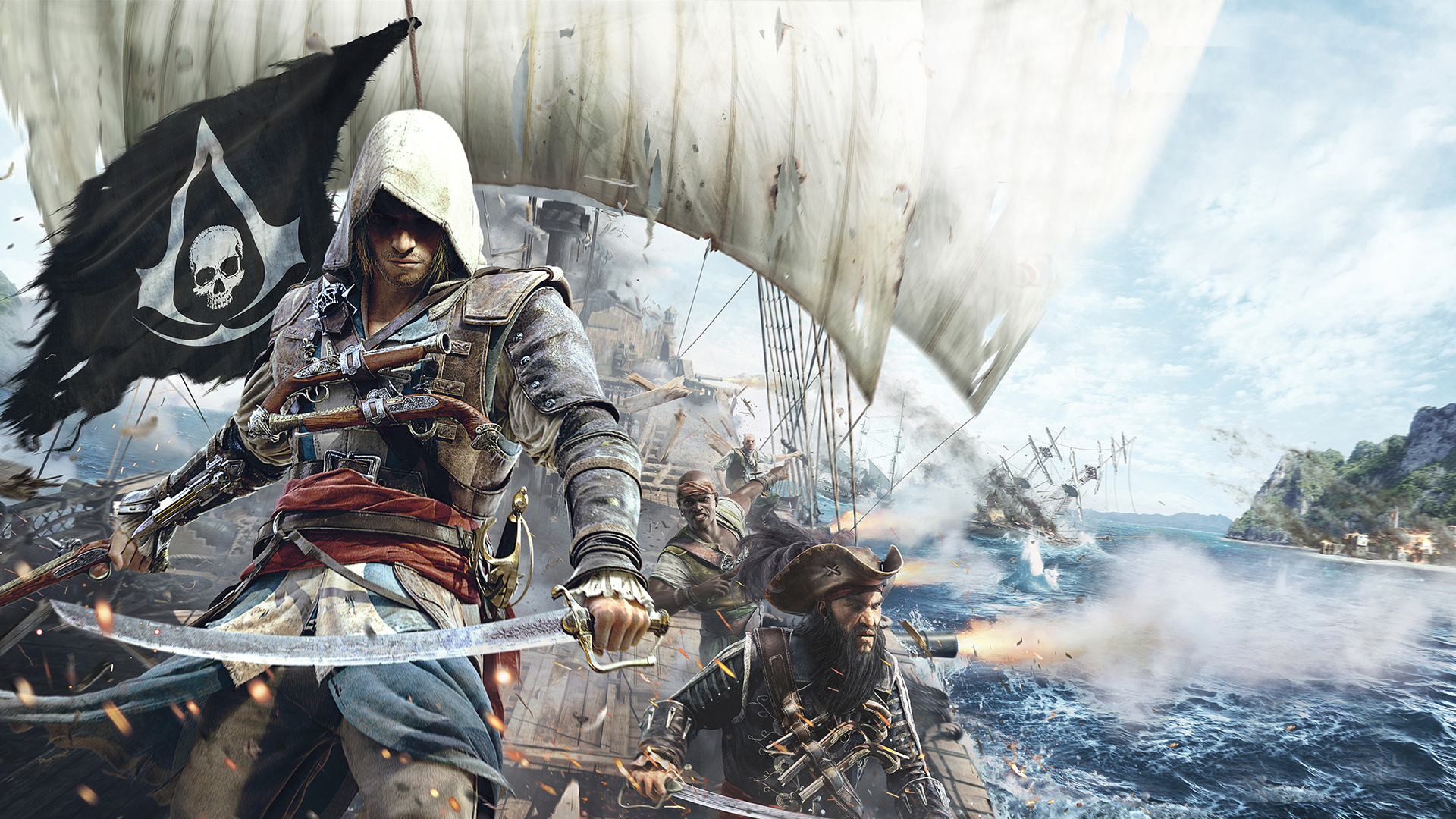 assassins creed black flag wallpaper pc