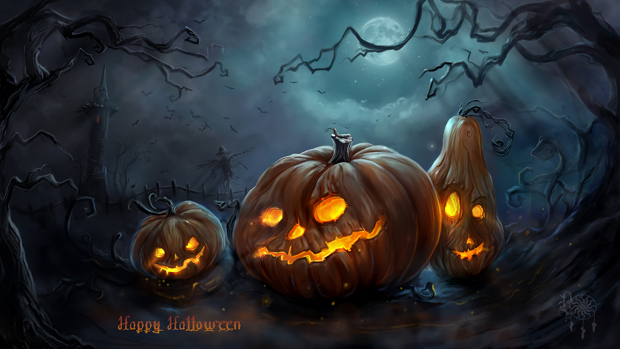 Halloween Pumpkin · HD Wallpaper | Background Image ID:511026
