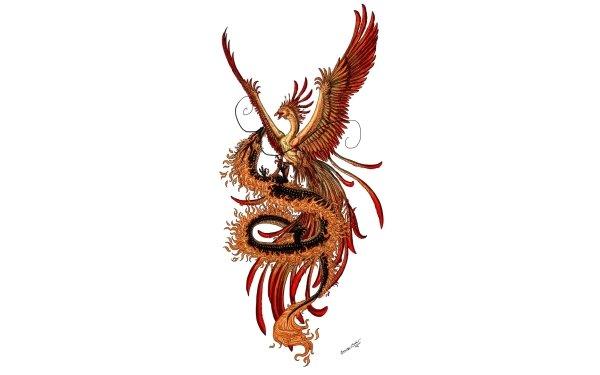 Fantasy Dragon Fenix HD Wallpaper | Background Image