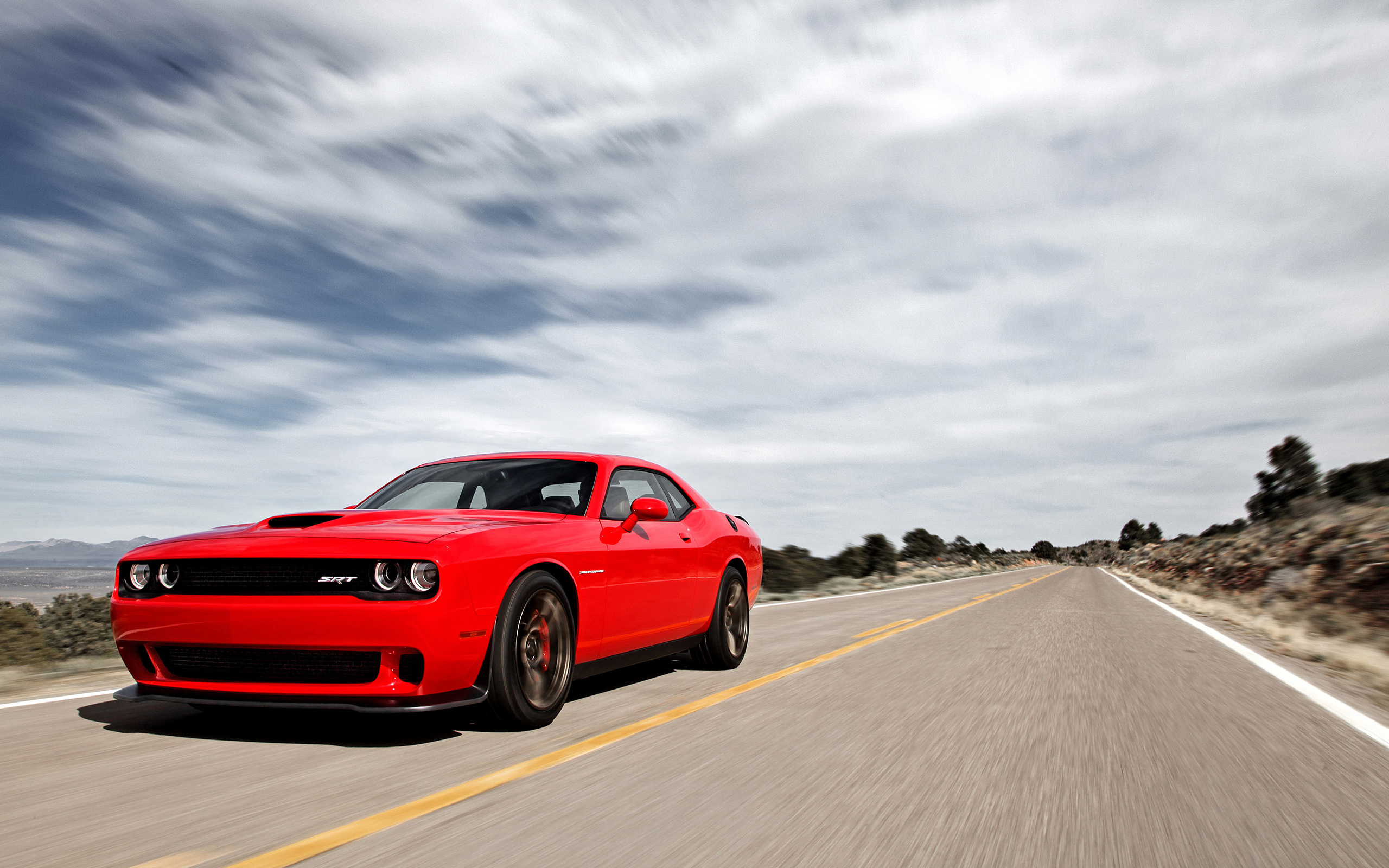 Dodge Challenger Srt Hd Wallpaper Background Image 2560x1600