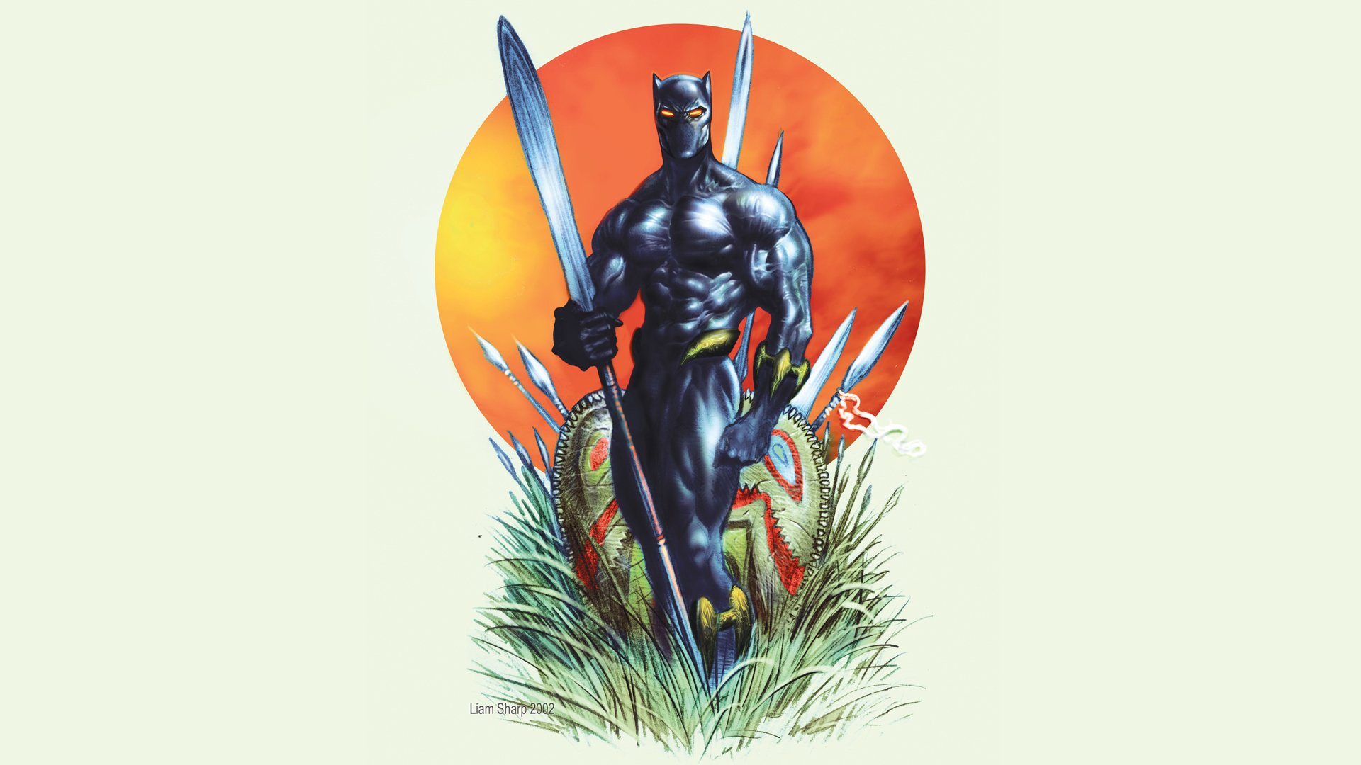 Black Panther Wallpaper Marvel: Black Panther Full HD Wallpaper And Background Image