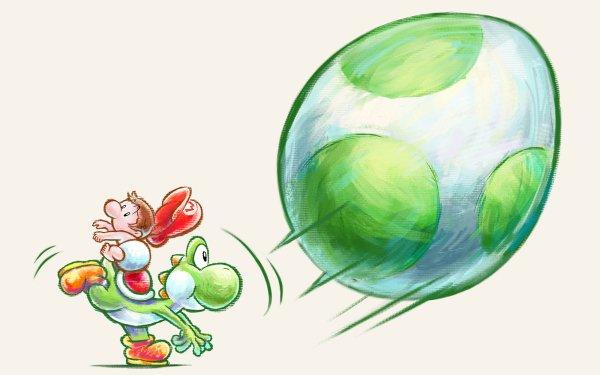 Video Game Yoshi's New Island Baby Mario Yoshi HD Wallpaper   Background Image