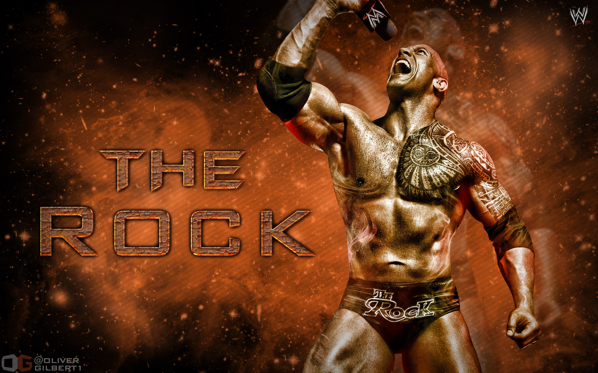 wwe the rock full hd wallpaper and background image | 1920x1200 | id