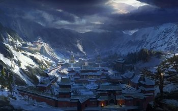 Fantasy - City Wallpapers and Backgrounds ID : 513535