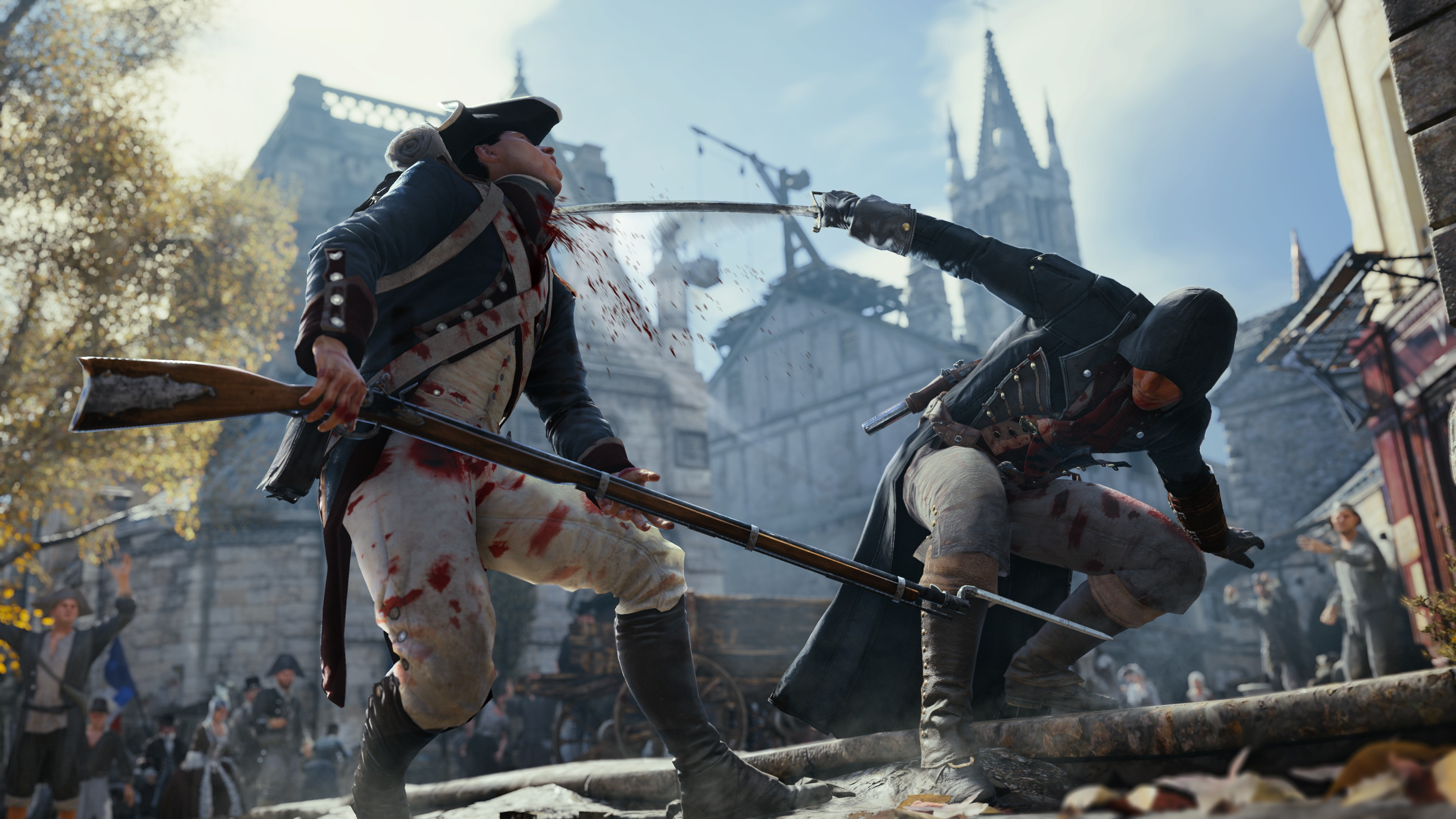 Assassin 39 s creed unity computer wallpapers desktop - Assassin s creed unity wallpaper ...