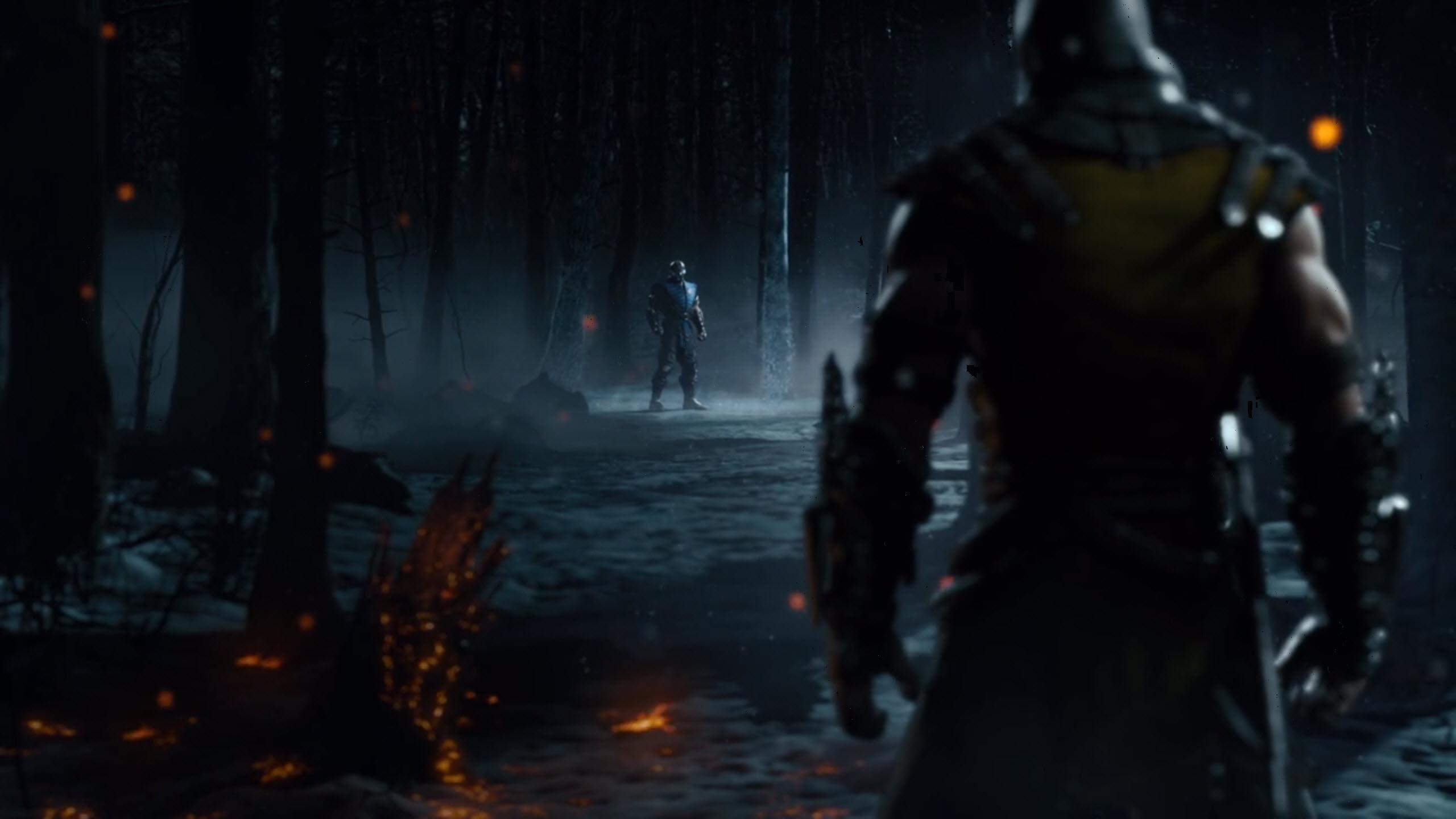 Mortal Kombat X Hd Wallpaper Background Image 2560x1440